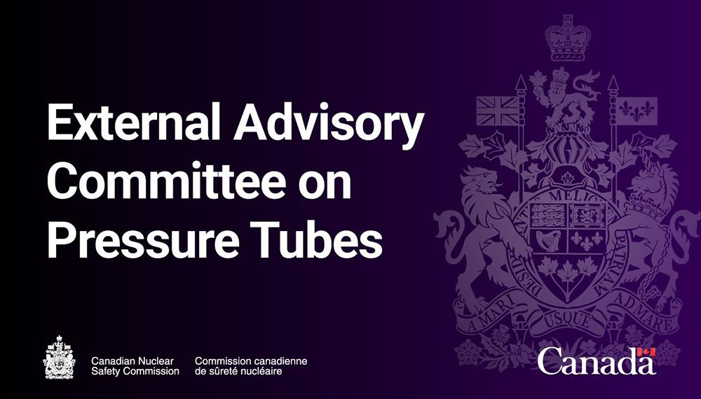 External Advisory Committee on Pressure Tubes