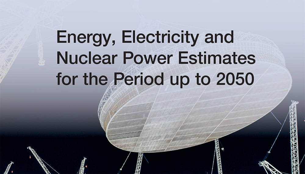 Report cover: Energy, Electricity and Nuclear Power Estimates for the Period up to 2050