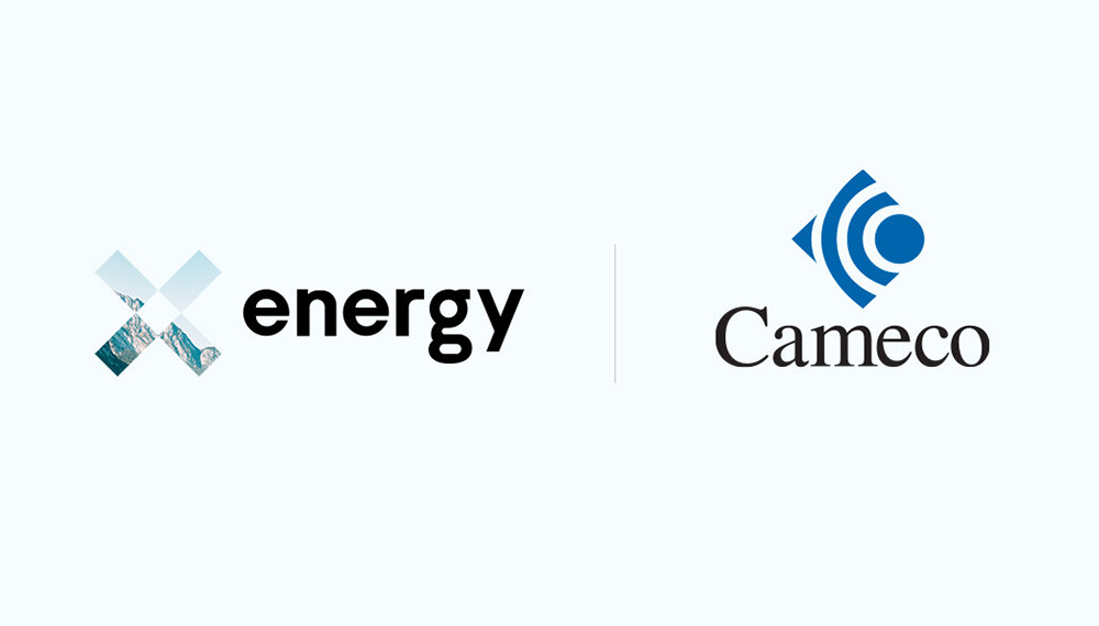 X-energy and Cameco logos