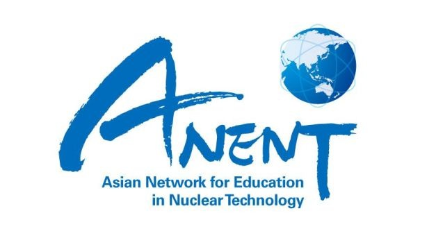 Asian Network for Education in Nuclear Technology logo