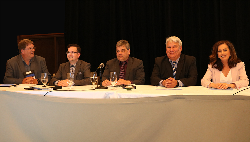 Panel at CNS conference