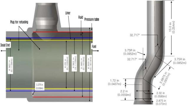 CANDU 6 feeder diagram