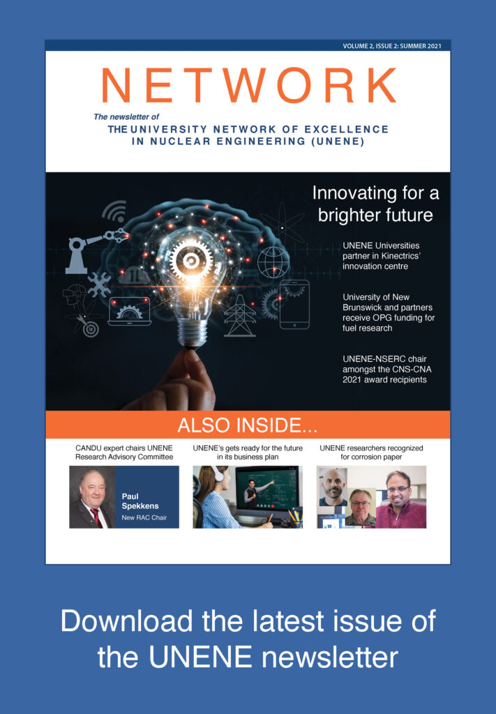 Download the latest issue of the UNENE newsletter