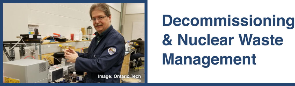 Decommissioning & Nuclear Waste Management