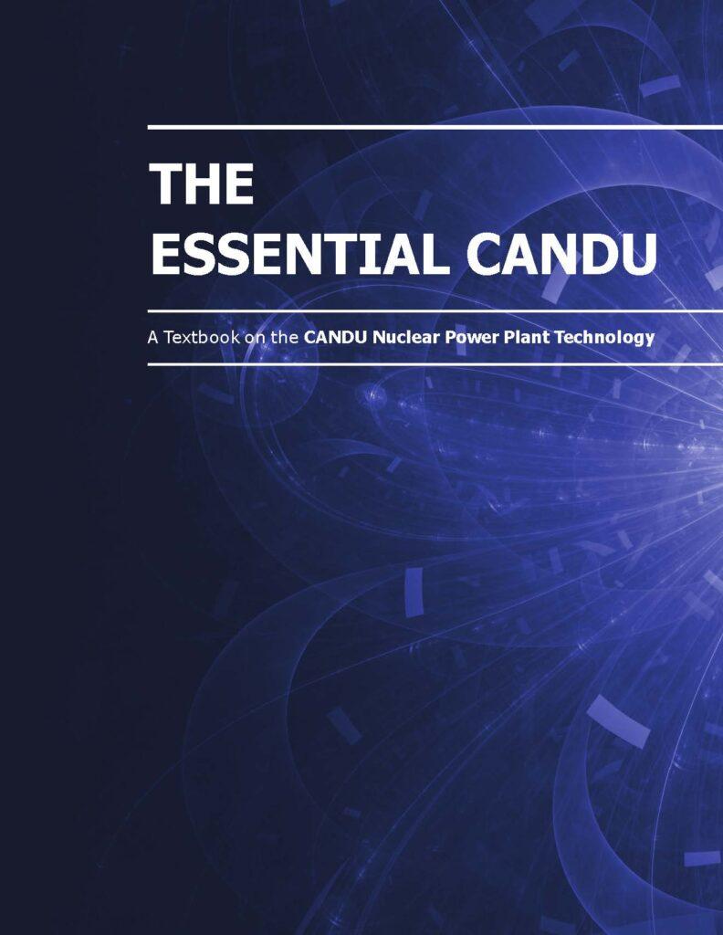The Essential CANDU textbook cover