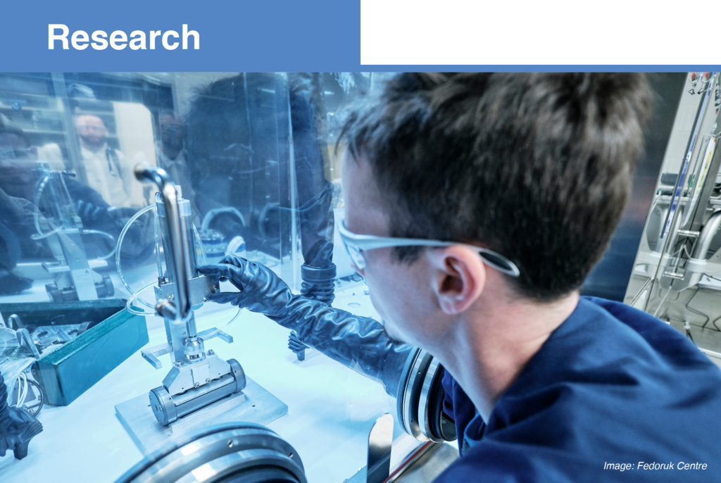 Research: Man in lab